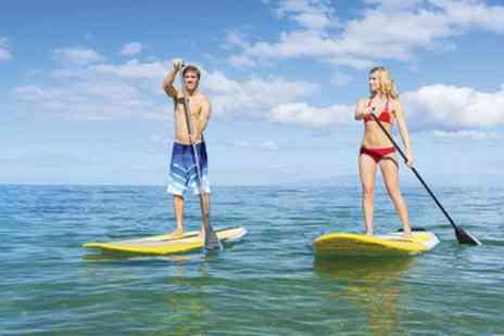 Active Nation - One Hour Paddleboard Hire for One or Two - Save 25%