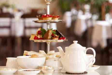 The Grange Manor - Afternoon Tea with Optional Sparkling Wine for Two or Four - Save 50%