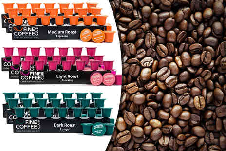 Fine Coffee Club - 100 Nespresso compatible capsules - Save 39%