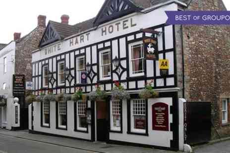 The White Hart Hotel - Two Course Lunch for Up to Six - Save 24%