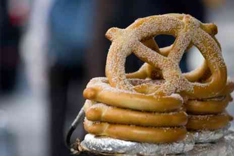 Auntie Annes - Pretzel and Drink for Up to Four - Save 52%