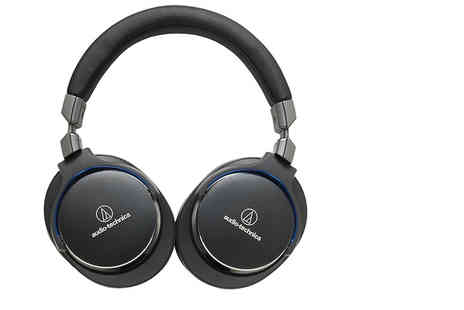 Hanaco - Pair of Audio Technica ATH MSR7NC noise cancelling headphones - Save 27%
