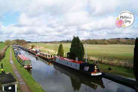 Norbury Wharf - Mothers Day canal cruise on The Shropshire Star for one with a cream tea - Save 50%