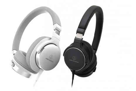 Hanaco - Pair of ATH SR5 high resolution on ear headphones - Save 21%
