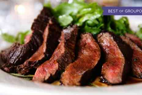 Surf and Turf - Two Course Steak Lunch for Two or Four - Save 0%