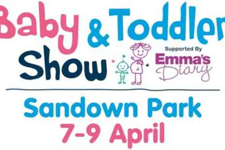 Baby and Toddler Show - One ticket to the Baby and Toddler Show on 7 To 9 April - Save 38%