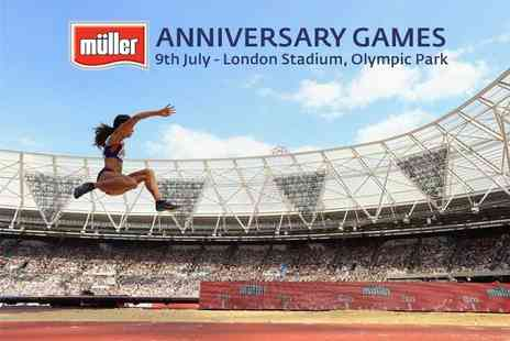 UK Athletics - Concession ticket to the Muller Anniversary Games - Save 64%