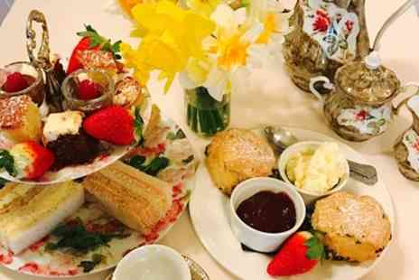 Rowley Manor Hotel - Traditional or Sparkling Afternoon Tea for Two or Four - Save 17%