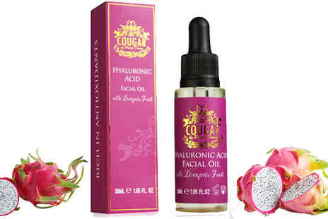 Cougar Beauty Products - Dragons Fruit Hyaluronic Acid Oil One Or Two - Save 57%