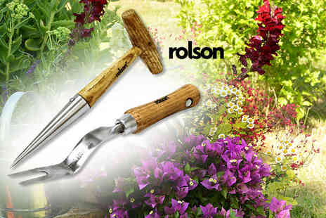 Rolson Tools - Stainless steel weeder and dibber - Save 63%