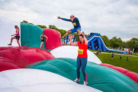 Be Gung Ho - Ticket to take part in an inflatable 5k run in Edinburgh, Leeds, Kent, Southampton or Manchester - Save 29%
