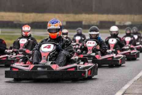 Three Sisters Race Circuit - 15 or 30 Minutes Pro Karting Experience - Save 24%