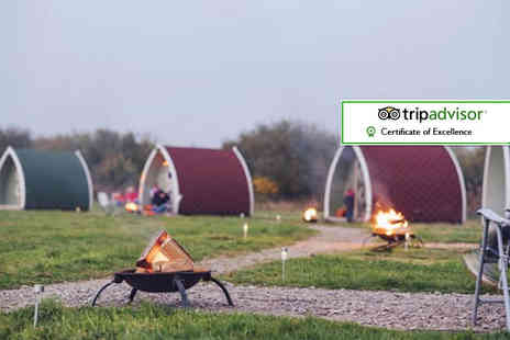 Stanley Villa Farm Camping - One or two night glamping stay for a family of up to four - Save 35%