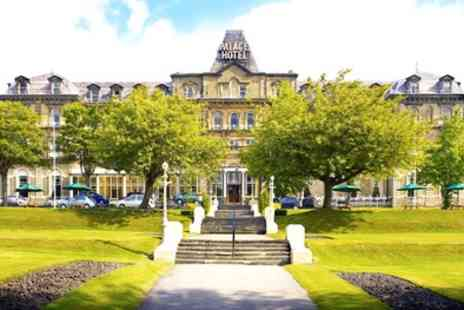 The Palace Hotel Buxton - One or Two Nights Stay for Two with Breakfast and Option for Dinner and Wine - Save 0%