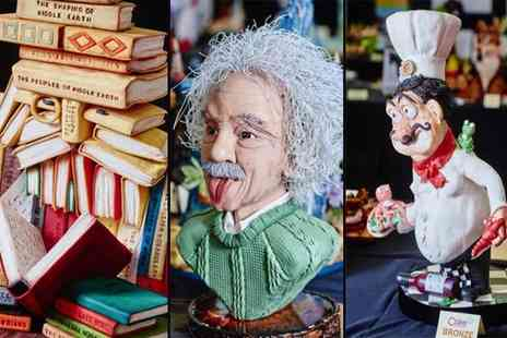 ICHF Events - Senior entry to the Cake International exhibition on 22nd or 23rd April - Save 54%