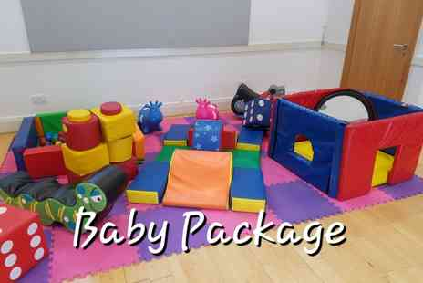 Squashies Softplay - Three hour soft play hire including a baby or toddler package - Save 38%