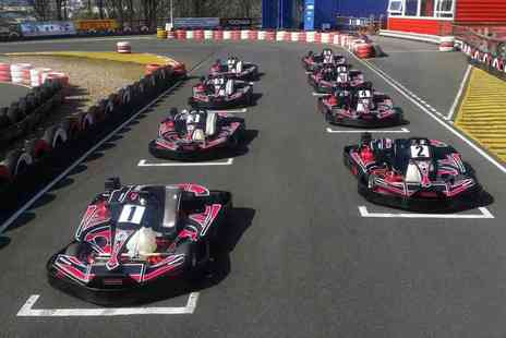 Parkwood Karting - Karting package including a warm up lap, 30 minutes of timed racing, and print out lap times - Save 53%