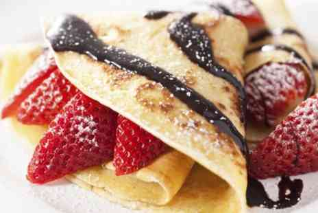 Crepe Cottage - Crepes or Waffles with a Soft or Prosecco - Save 51%