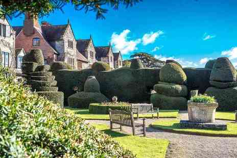 The Billesley Manor Hotel - Overnight stay for two with dinner, breakfast, wine and late check out - Save 45%