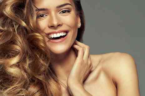 Ocean Hair & Beauty - Half head of highlights, Macadamia treatment, haircut and blow dry with a glass of Prosecco - Save 71%