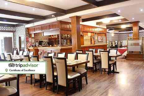 Shri Bheemas - Indian buffet lunch for two people - Save 56%