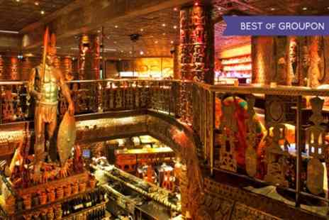 Shaka Zulu - Three Course South African Meal with a Champagne Cocktail for Up to Six - Save 68%