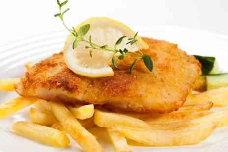Lazy Lounge - Fish and Chips with Prosecco for Up to Six - Save 41%