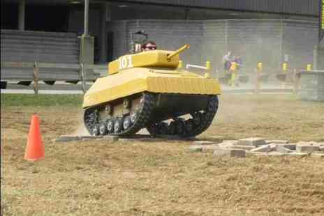 Netley Hall - 90 minute paintball tank driving session - Save 57%