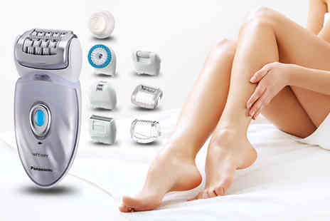 Hanaco - Panasonic ES ED96 Eight In One epilator - Save 48%
