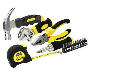 Rolson Tools - 15 piece home tool kit - Save 55%