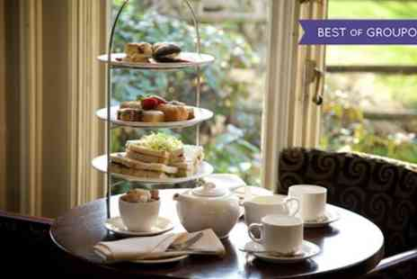 The Llyndir Hall Hotel & Spa - Sparkling Afternoon Tea with Spa Access for Up to Six - Save 40%