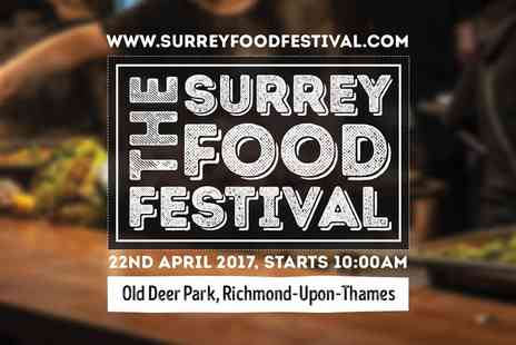 The Surrey Food Festival - Two tickets to the Surrey Food Festival - Save 0%