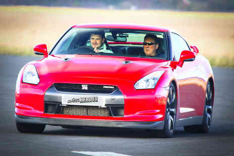 Car Chase Heroes - Three lap Nissan GT R driving experience - Save 61%
