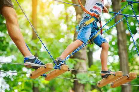 Activity Superstore - High ropes adventure for two - Save 24%