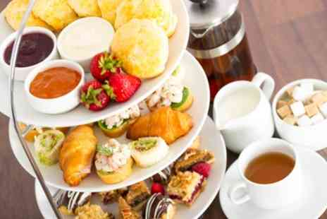 Caledonian Hotel - Rustic Afternoon Tea with Wine for Two - Save 49%