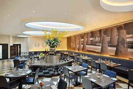 The Montcalm - Two course dining with a bottle of sparkling wine for two - Save 57%