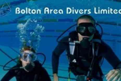 Bolton Area Divers - PADI Open Water Referral Course - Save 64%