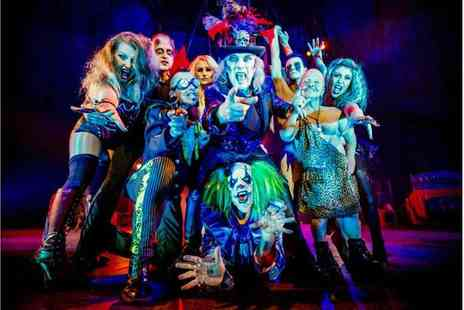 ATG Tickets - Ticket to Circus of Horrors, The Never Ending Nightmare - Save 52%