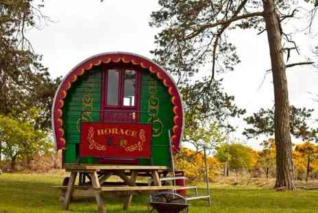 North Shire - Two night gypsy caravan stay for two - Save 43%