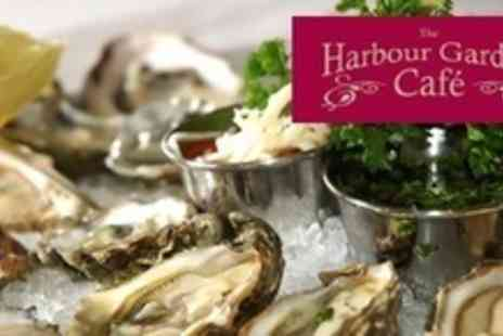 The Harbour Garden Cafe - Oysters and Bubbly For Two - Save 53%