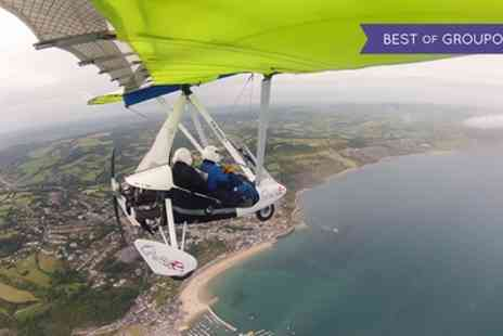 Learn to Fly - 60 Minute Flex Wing Microlight Flying Experience - Save 46%