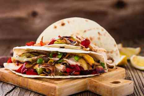 Mexicali - Unlimited Margaritas and a choice of fajita meal each for two - Save 59%