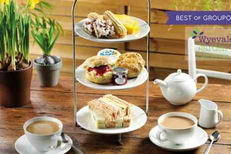 Wyevale Garden Centres - Afternoon Tea for Two or Four - Save 38%