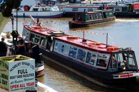 Norbury Wharf - Shropshire Canal Cruise wit Optional Cream Tea for Up to Four- Save 53%