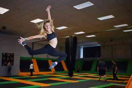 Jump 360 Hartlepool - One Hour Bouncing Session for One or Two - Save 25%