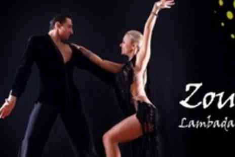 Zouk Lambada UK - Three Salsa Classes - Save 67%