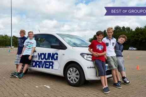 Young Driver - 30 or 60 Minute Driving Lesson - Save 20%
