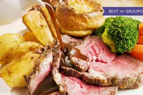 Buxton Palace Hotel - Three Course Sunday Lunch with Glass of Wine for Two, Four or Six - Save 28%