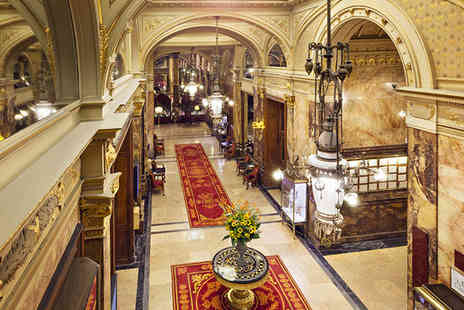 Hotel Metropole Brussels - Five Star Art Deco Design Hotel Stay - Save 75%