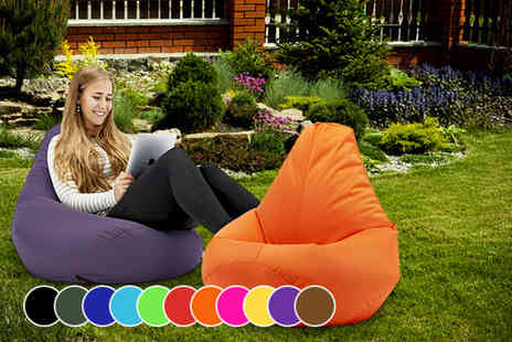 UK Beanbags - Large luxury highback beanbag chair - Save 73%